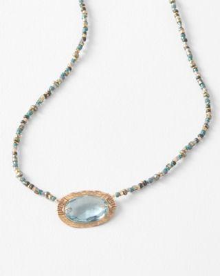 Dana Kellin Handmade Short Pendant Choker Necklace