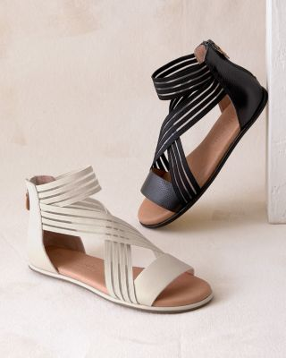 Gentle Souls Break Elastic Sandals