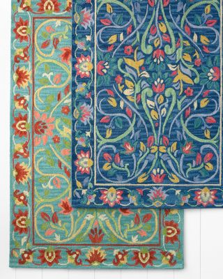 Jaipur Garden Hand-Hooked Wool Rug by Company C