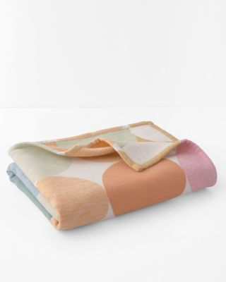Colorful Dots Organic-Cotton Oversized Throw