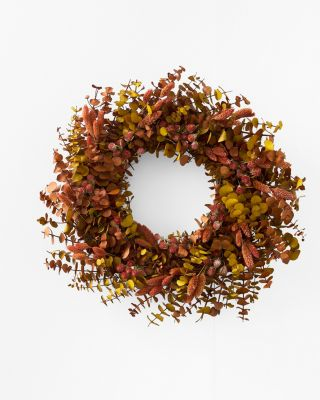 Spiced Blooms Wreath