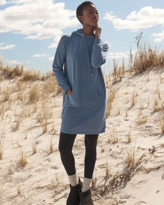 Trainer Hooded Sweatshirt Dress