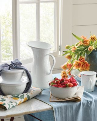 Indoor-Outdoor Enamelware Serving Collection