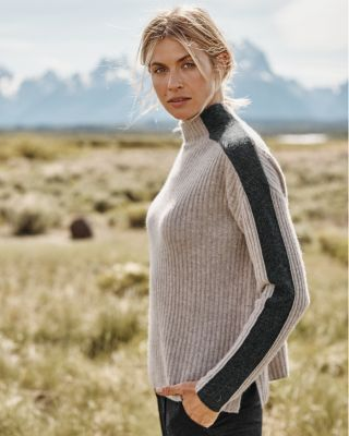 Recycled-Cashmere Retro Sweater