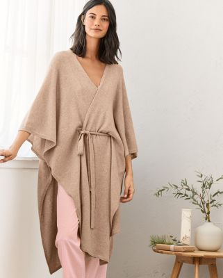 Cashmere Batwing Sweater Robe