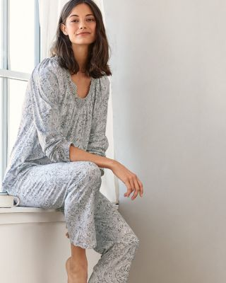 Dentelle Organic Cotton & TENCEL Knit Pajamas
