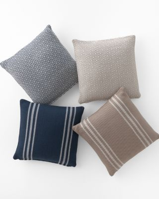 Indoor-Outdoor Woven Pillows by Dash & Albert