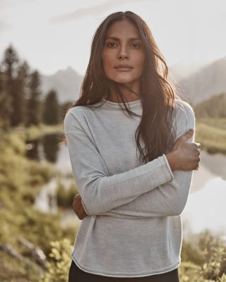 Essential Eco-Merino Funnel-Neck Sweater
