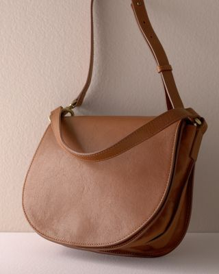 Demi Leather Cross-Body Handbag