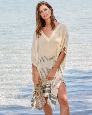 Hat Attack Stella Cotton Gauze Swim Cover-Up