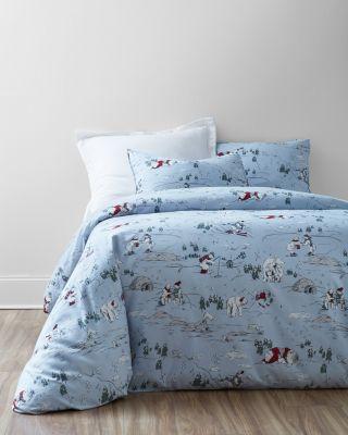 Polar Bear Flannel Duvet Cover