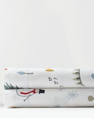 Yuletide Cotton Flannel Sheets