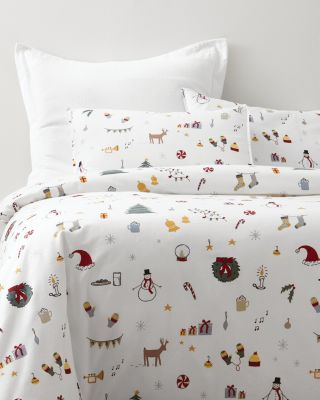 Yuletide Flannel Duvet Cover
