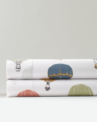 Up-in-the-Air Organic-Cotton Percale Duvet Cover