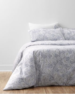 Signature Trailing Vine Floral Flannel Duvet Cover