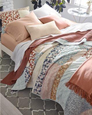 Madison Modern Patchwork Quilt by Garnet Hill