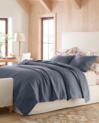 Lightweight Relaxed-Linen Quilt by Garnet Hill