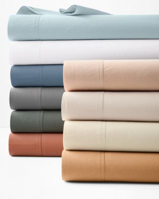 Relaxed-Organic-Cotton Sateen Sheets