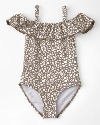 Girls' Flora One-Piece Swimsuit by Rylee + Cru