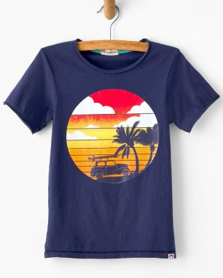 Boys' Appaman Graphic Short-Sleeve Tee Shirt