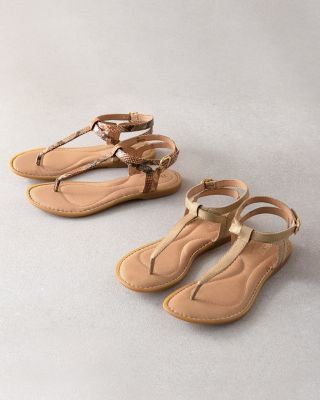 Born Acqualina Sandals