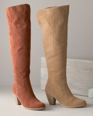 Mila Tall Suede Boots
