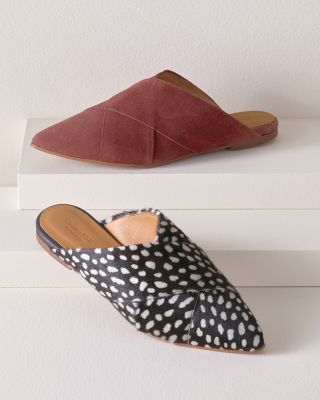 Hazel Crossover Mule Slip-On Shoes