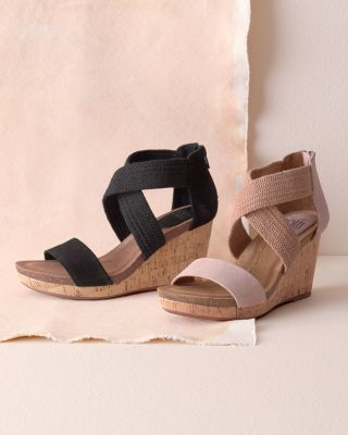 Chalette Wedge Sandals by Sofft