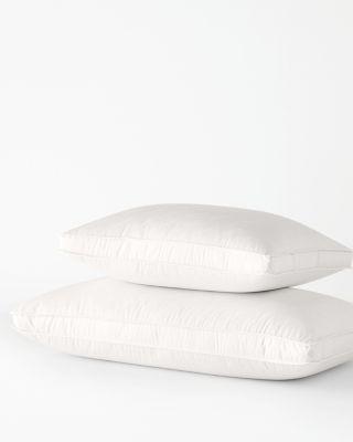 Garnet Hill Signature White Down Gusseted Pillow