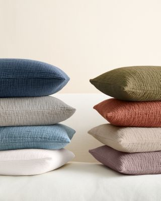 Isa Stonewashed Organic-Cotton Pillow Cover