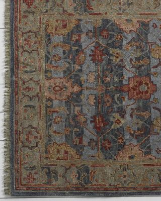 Treviso Hand-Tufted Wool Rug With Fringe