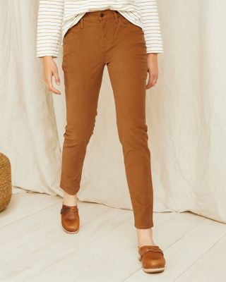 Essential Slim Corduroy Pants