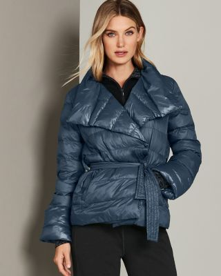 Lole Maria Packable Wrap Jacket With Vegan Down Fill