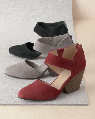 EILEEN FISHER Mina Suede Shoes