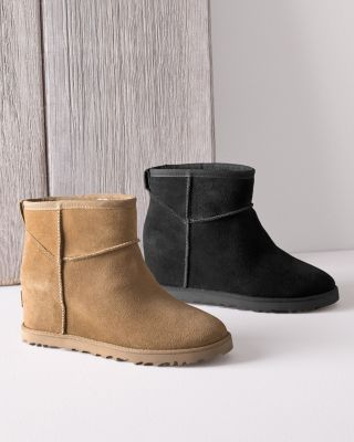 UGG Classic Femme Mini Wedge Booties