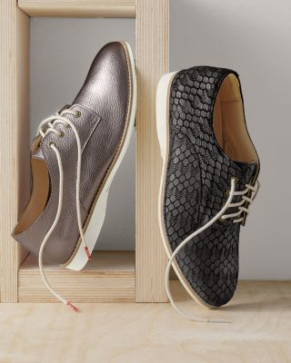 Derby Leather Lace-Up Shoes by Rollie