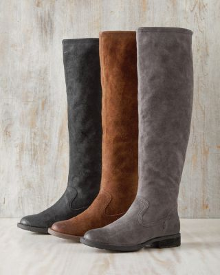 Born Borman Tall Boots With Fold-Over Cuff