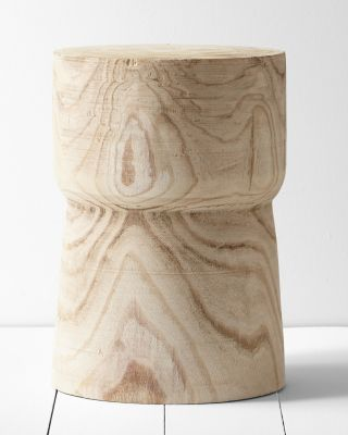 Yucca Accent Side Table by Garnet Hill
