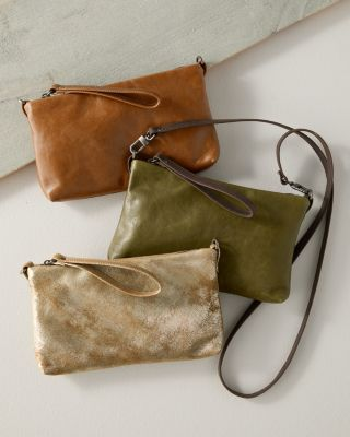 Leather Cross-Body Bag by Rough and Tumble