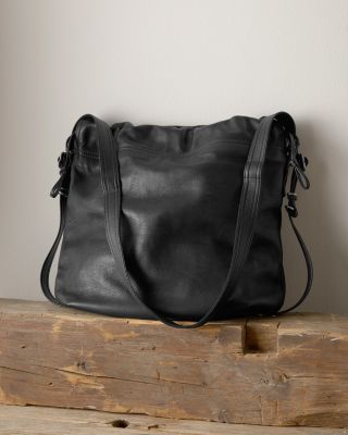 Convertible Leather Train Pack Bag by Rough and Tumble