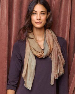 Vismaya Wool & Silk Ombre Scarf