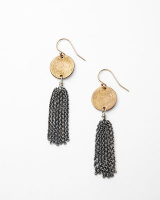 Demeter Tassel Earrings by Kristen Mara