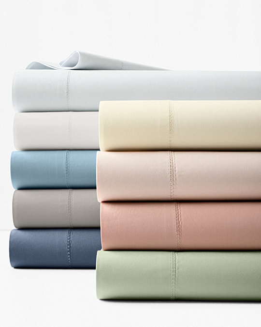 7a51d50cff Bed Sheet Types  Percale. Garnet Hill Solid Hemstitched Supima Percale  Bedding.